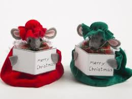 Christmas Mice Decorations Christmas Decorations View The Full Range From Plaid Tidings