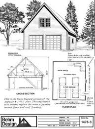 two car garage loft plan 051g 0052 rocky mountain high pinterest