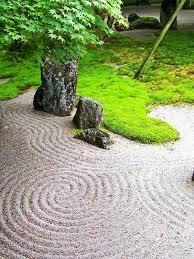 768x1024 japan garden sand natur stones ipad mini wallpaper