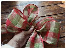 how to make christmas christmas bow you can make yourself step by step tutorial