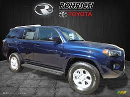 toyota 4runner 2017 black 2017 nautical blue metallic toyota 4runner sr5 premium 4x4