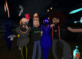 halloween holograms rick and morty creator justin roiland and reggie watts do a live