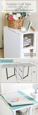 Small Folding Desks Sobuy Folding Laptop Desk Table With 4 Tiers Bookcase Storage