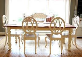 How To Paint A Table How To Paint A Farm Table Refresh Restyle