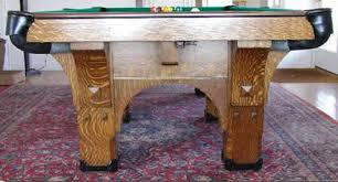 brunswick mission pool table the st bernard mission antique brunswick billiards table