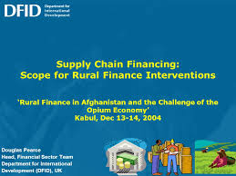 Rural Finance In Selected Ifad Financed Operations Dr Supply Chain Financing Scope For Rural Finance Interventions