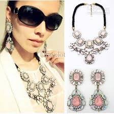 earrings with statement necklace images Statement necklace and earrings image of earring jpg