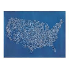 Usa River Map by Rivers Of The Us All Things Merge Into One Usa Rivers Map Of