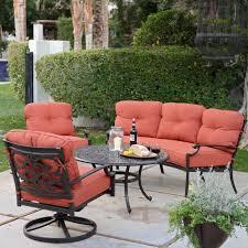 Patio Conversation Sets On Sale Belham Living San Miguel Cast Aluminum Sofa Conversation Set Seat
