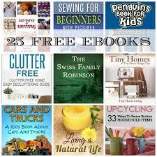 25 free ebooks the swiss family robinson 35 ways to reuse broken