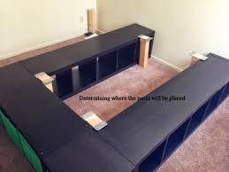 Queen Platform Bed Frame With Storage Queen Bed Ikea Queen Platform Bed Kmyehai Com