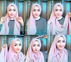tutorial hijab pashmina tanpa dalaman ninja 35 cara memakai jilbab pashmina simple kreasi terbaru 2017