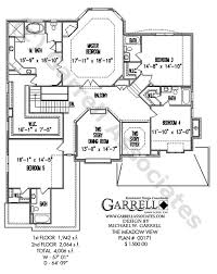plan view meadow view house plan house plans by garrell associates inc