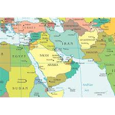 africa map countries and capitals facts about capitals of the middle east countries