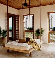 Mediterranean Bedroom Design by 3 Suspended Bed For A Classy Bedroom