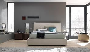 modern italian bedroom set in leather with nightstands and dresser modern italian bedroom set in leather with nightstands and dresser
