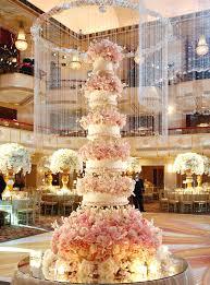 beautiful wedding cake for a celebration celebrity wedding cake