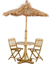 Tiki Outdoor Furniture by Summer Sale Outdoor Bamboo54 Tiki Bistro Set With 2 Chairs And