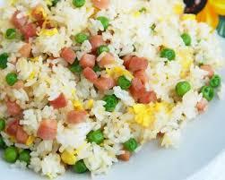 cuisine riz recette riz cantonnais facile rapide