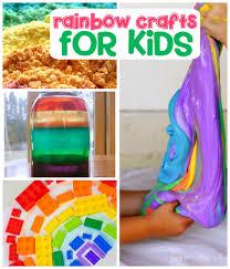 Craft Activities For Kids 31 Color Me Happy Rainbow Activities For Kids Crystalandcomp Com