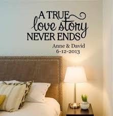 mrs decals by amandaus designer love story quote decor designs