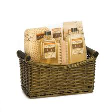 spa basket spa gift baskets gifts baskets for women vanilla and