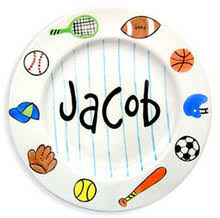 personalized ceramic plates personalized kids ceramic plates bowls mugs at for that occasion