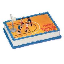 basketball cake topper cake decorating kits toppers basketball boys basketball cake