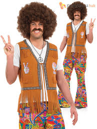 mens 60s psychedelic flares for 70s fancy dress adults male