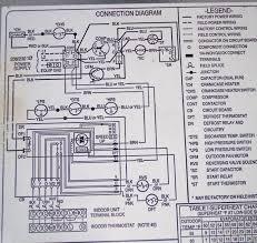 goodman wiring diagram u0026 goodman heat pump thermostat wiring