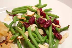 12 days of healthy side dishes green beans with cranberries