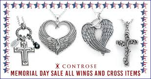 50 memorial day sale all wings and cross items controse