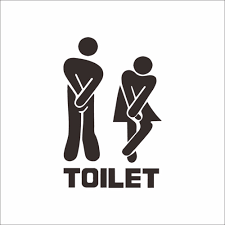 aliexpress com buy 3d moderncreative toilet sticker door aliexpress com buy 3d moderncreative toilet sticker door washroom wallpaper poster bathroom wall decals balck stickers small size home decor from reliable