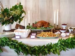 stress less entertaining set up a thanksgiving buffet hgtv