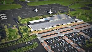 3d yantram bird view airport exterior rendering design uk london