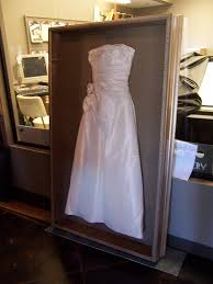 wedding dress shadow box shadow box for wedding dress