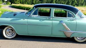 1952 oldsmobile super 88 walk around youtube