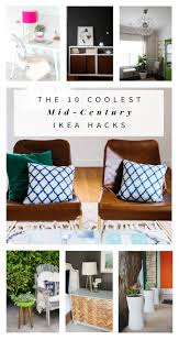 ikea credenza hack the 10 coolest mid century ikea hacks hither thither