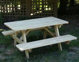 treated pine kid u0027s picnic table