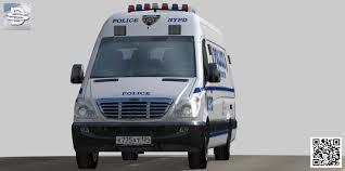 freightliner 3d model freightliner nypd police crime scene unit vr ar low