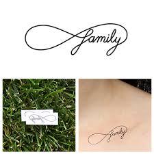 infinity family temporary set of 2