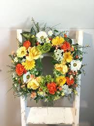 springtime wreaths springtime wreaths springtime mesh wreaths sumoglove
