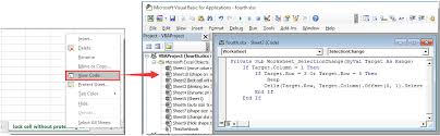 how to lock specified cells without protecting the whole worksheet