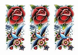 temporary tattoos vintage style rockabilly temporary tattoos