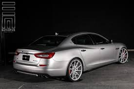 custom maserati gray metallic maserati quattroporte s q4 shows off custom gloss
