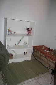 an apple and a tree bookshelf to dollhouse
