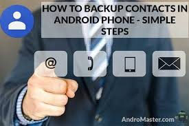 how to backup contacts on android simple steps how to import export contacts in android phone