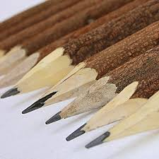 beautiful wooden pencils handmade in india using the offcuts of