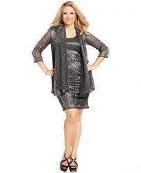 r m richards plus size dresses r m richards plus size sleeveless metallic dress and jacket
