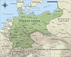 frankfurt on world map map of the german empire in 1914 nzhistory new zealand history